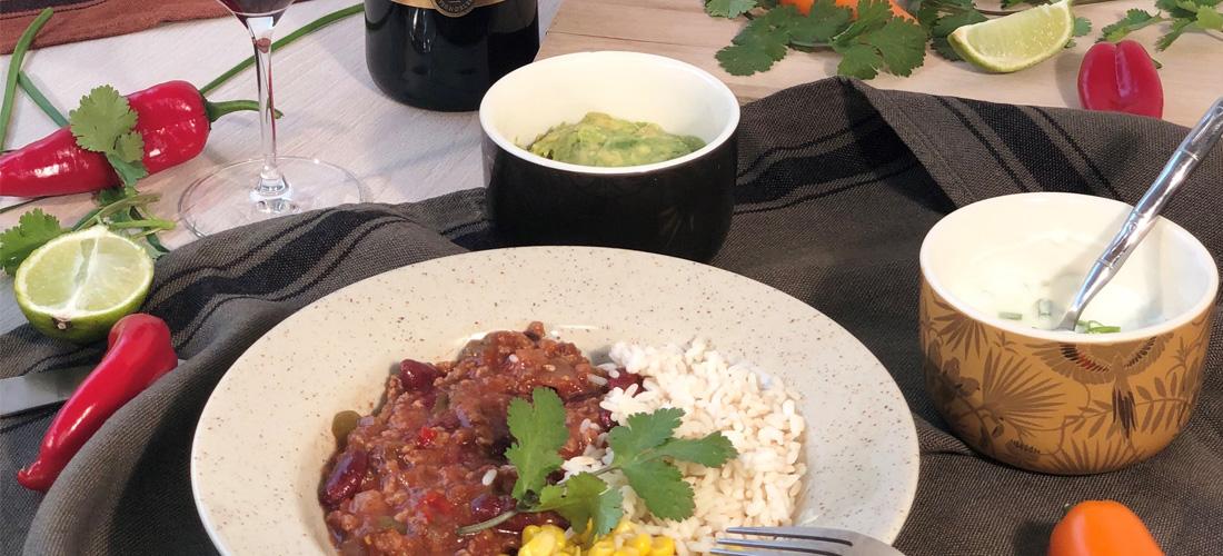 Le chili con carne, un plat haut en couleurs